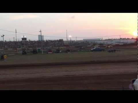 Monett Speedway B-Mod Heat 8-1-10