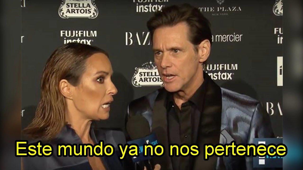 La extraña entrevista de Jim Carrey |