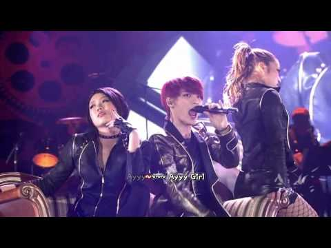 JYJ - Ayyy Girl (2013 Concert in Tokyo Dome) [English karaoke sub]