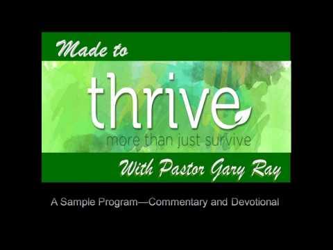 Sample Radio Program Commentary & Devotional