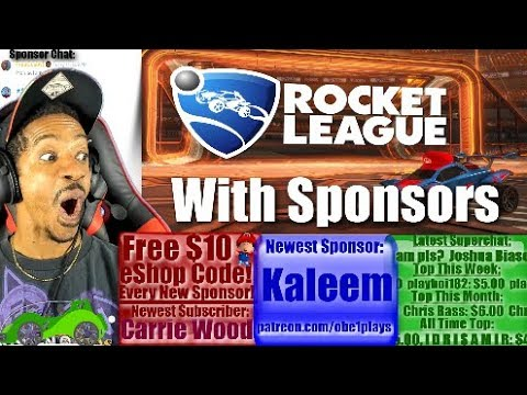 Rocket League Nintendo Switch With Sponsors