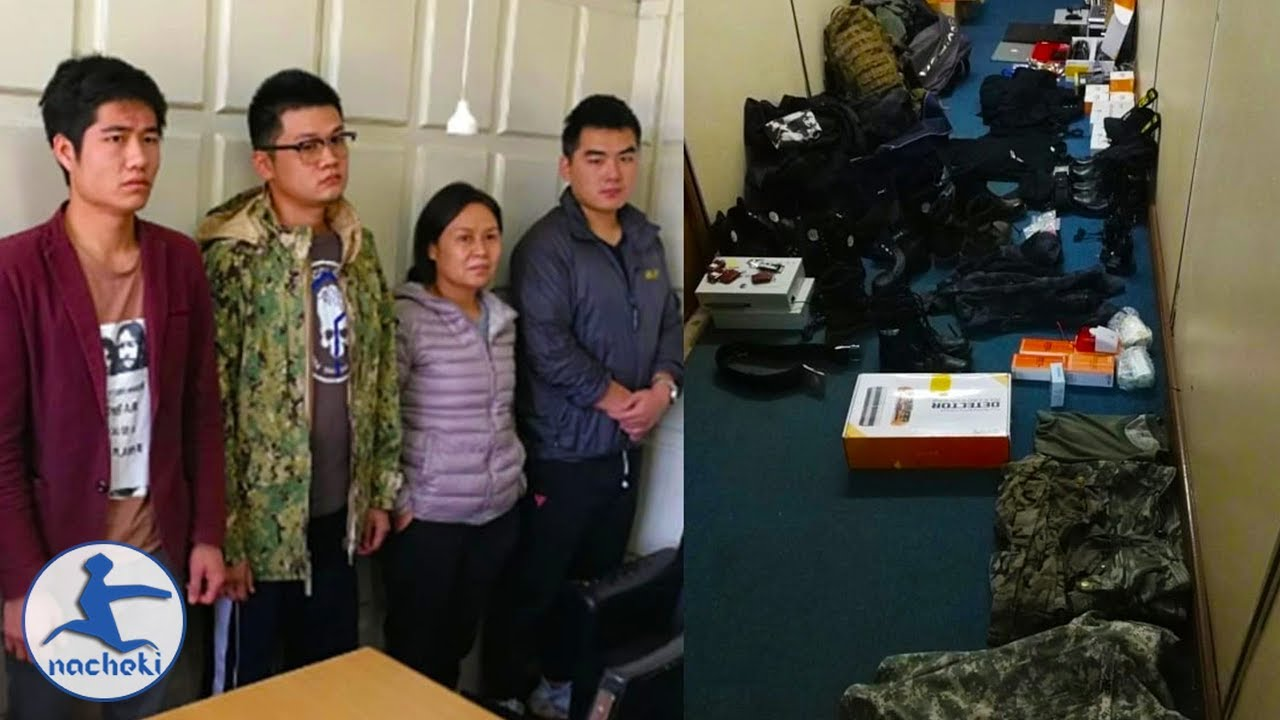 Chinese Nationals Arrested in Kenya with Military Gear and Weapons