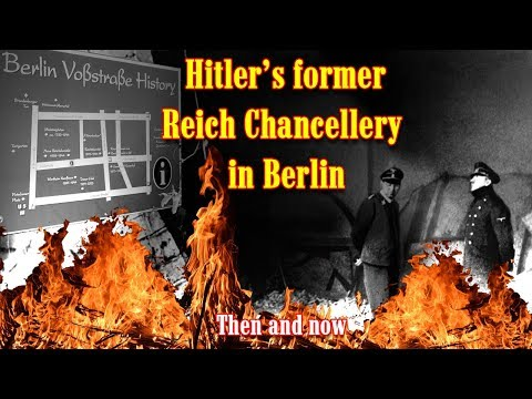 Hitler's former Reich Chancellery in Berlin. A detailed then and now video tour .