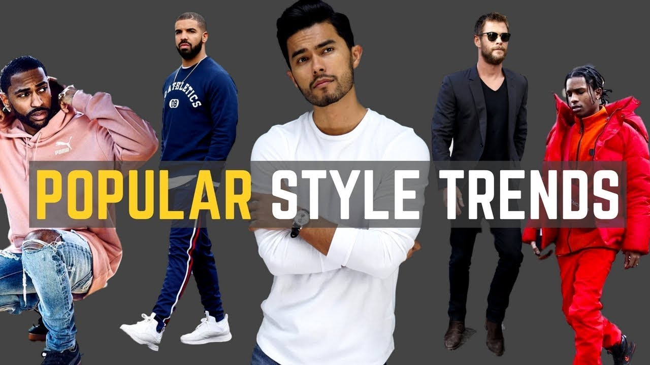 1ef2dd472a420 7 POPULAR Men s Style Trends for 2018 - YouTube
