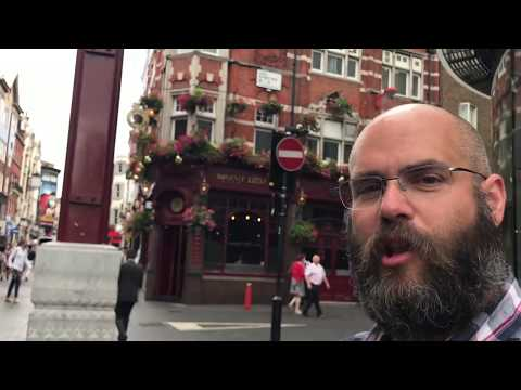 London - Leicester Square, Chinatown, Shaftesbury Avenue