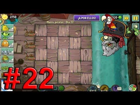 Plants Vs Zombies 2, Mares Piratas Día 22