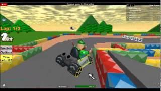 Roblox: Mario Kart Roblox Dash - NOOOOO