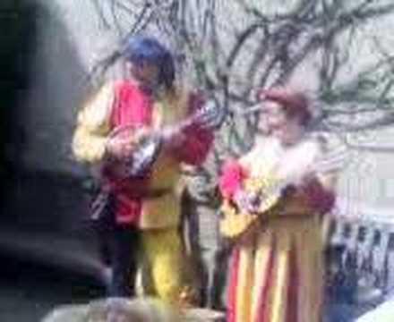 All Around My ARSE! Folk singers at Warwick Castle