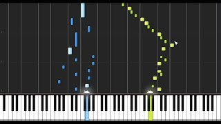 Beethoven: Piano Sonata No. 1 in F Minor - 1st Movement [Piano Tutorial] (Synthesia)
