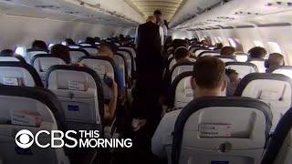 What flying in the U.S. amid the coronavirus pandemic looks like