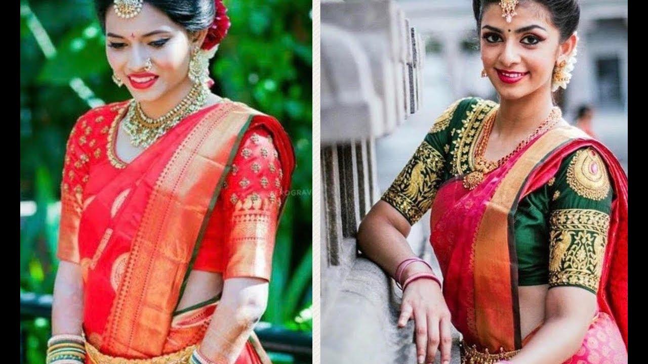 2be1a0857f9a5e Royal Red Kanchipuram Pattu Sarees for Brides