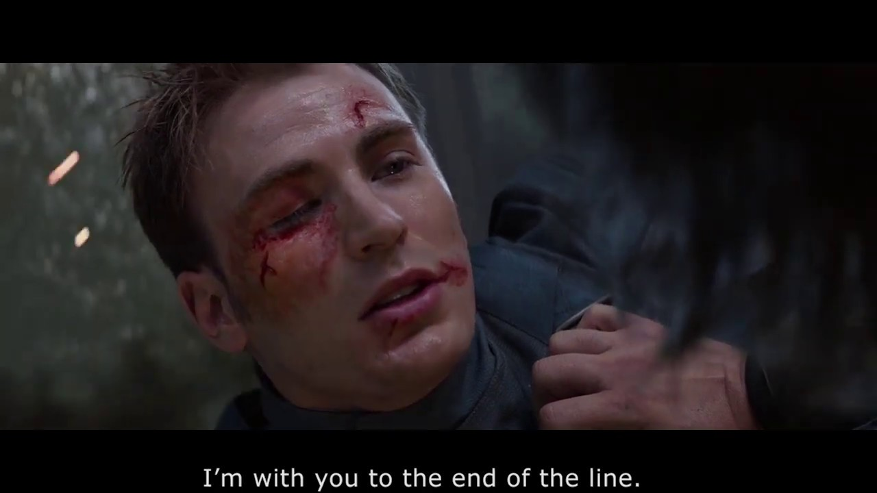 Download Captain America Winter Soldier - I'm with you to the end of the line