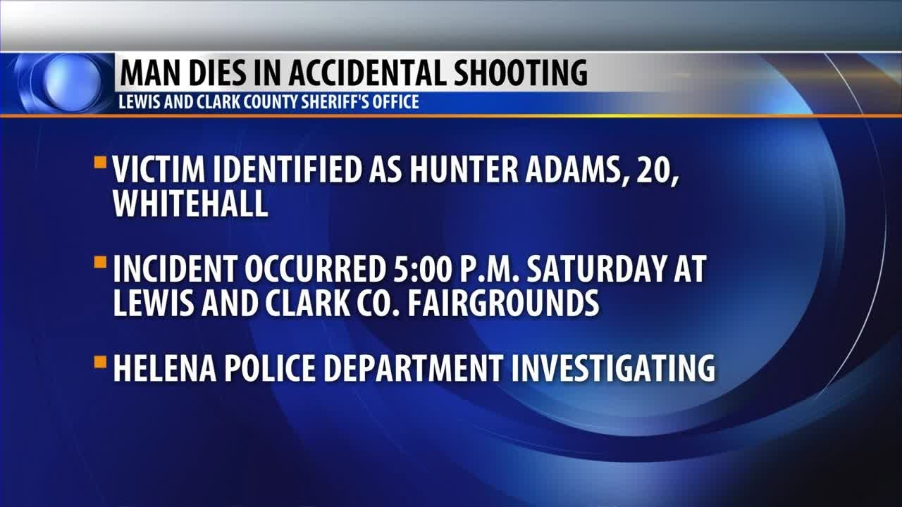 Man dies after accidental shooting at Lewis and Clark County Fairgrounds