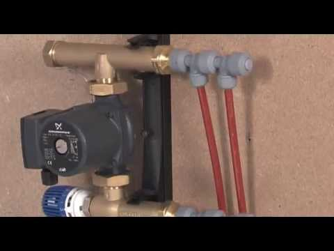 How to install Hep2O low-build single zone control system