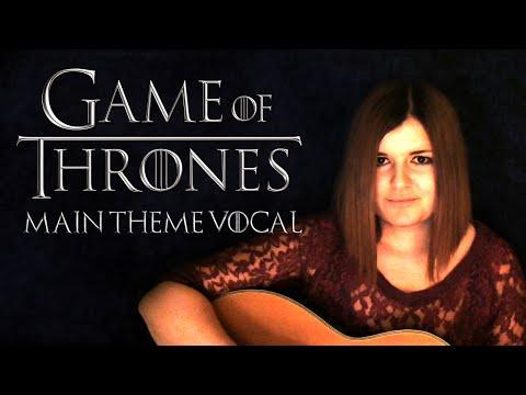 Game of Thrones Theme (LYRICS/VOCAL) ♥ KathiLoveGames [German/Deutsch]
