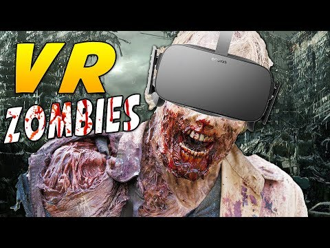 Make EXPERIENCE A Zombie Outbreak IN VIRTUAL REALITY! | Oculus Rift VR + Touch Gameplay) Snapshots