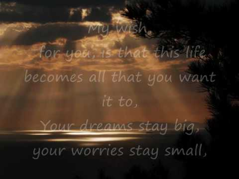 My wish for you song lyrics