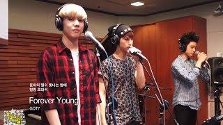 윤하의 별이 빛나는 밤에 - GOT7 - Forever Young, 갓세븐 - 포에버 영 20140703