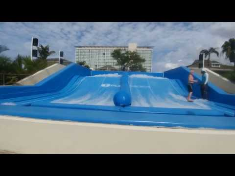 Create The Moment Travel Presents Moon Palace Jamaica Family Pool & Surfing Simulator area