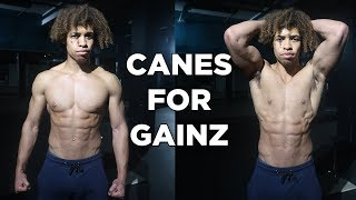 MY FAVOURITE CALISTHENICS EQUIPMENT TO BUILD MUSCLE SIZE AND STRENGTH FAST - CANES FOR GAINZ