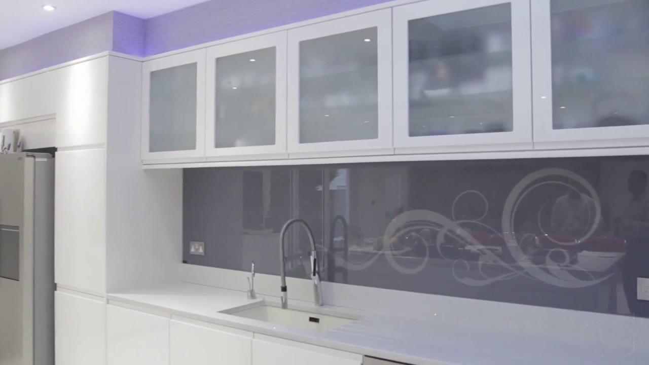 Hand-Made Artwork - Glass Kitchen Splashback Designs