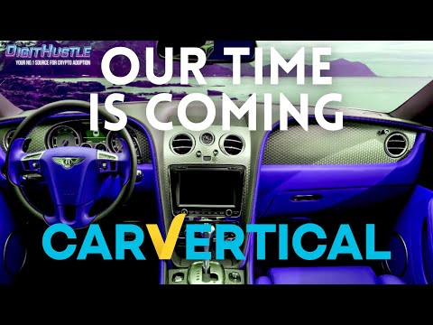 CarVertical is Only Month's Away From It's Bullrun Buy Buy Buy!!!$$$