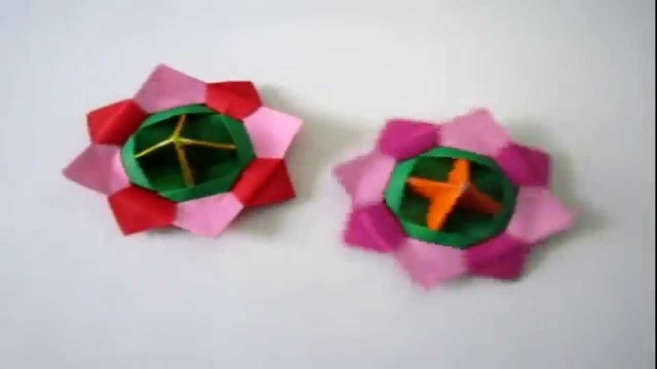 Origami toys how to make an origami spinning top youtube origami toys how to make an origami spinning top jeuxipadfo Images