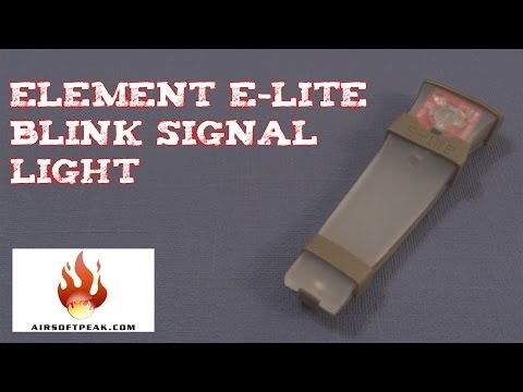(Review) ELEMENT E-Lite Blink Signal Light Two Modes Red