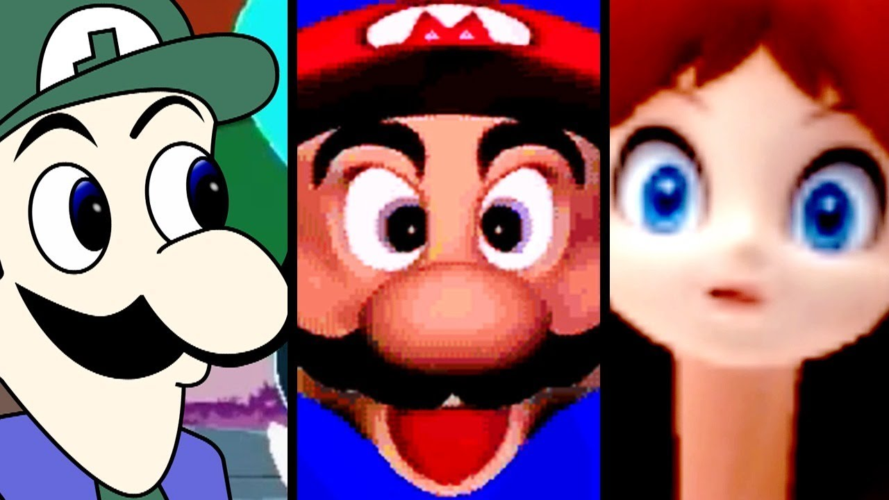 Super Mario Evolution of MEMES (Spaghetti to Weegee)