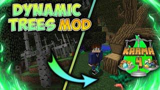 DYNAMIC TREES MOD | ARBOLES REALISTAS | REVIEW 1.12.2 (KARMALAND 4)