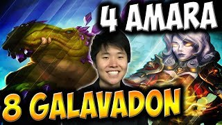 8 GALVADONS And 4 AMARA WARDEN OF HOPE In One Game | THE WITCHWOOD | HEARTHSTONE | DISGUISED TOAST
