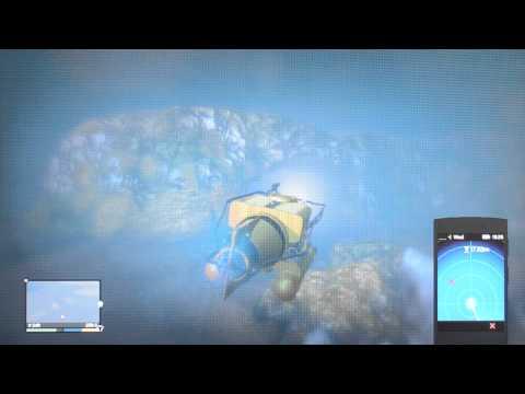 Sonar Collections Dock Submarine Test GTA 5 (V)