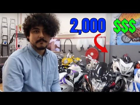 Buying My First Motorbike In Dubai !!??