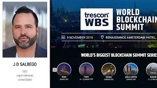 J.D. Salbego Speaks at World Blockchain Summit 2018 - Amsterdam