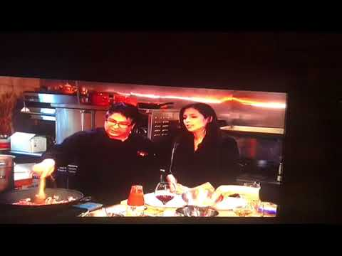 Marcello on WLNY TV  Toni on New York cooking show