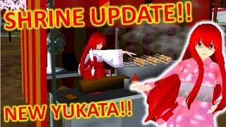 [School Girls Simulator] OLD SHRINE IS BACK!! NEW YUKATA!! [UPDATE 19.01.2019]