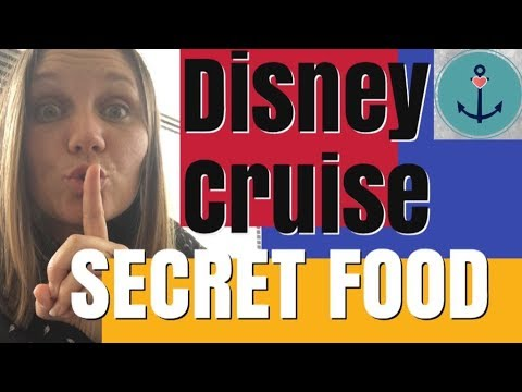 3 Places to Get SECRET FOOD on your Disney Cruise! WMV