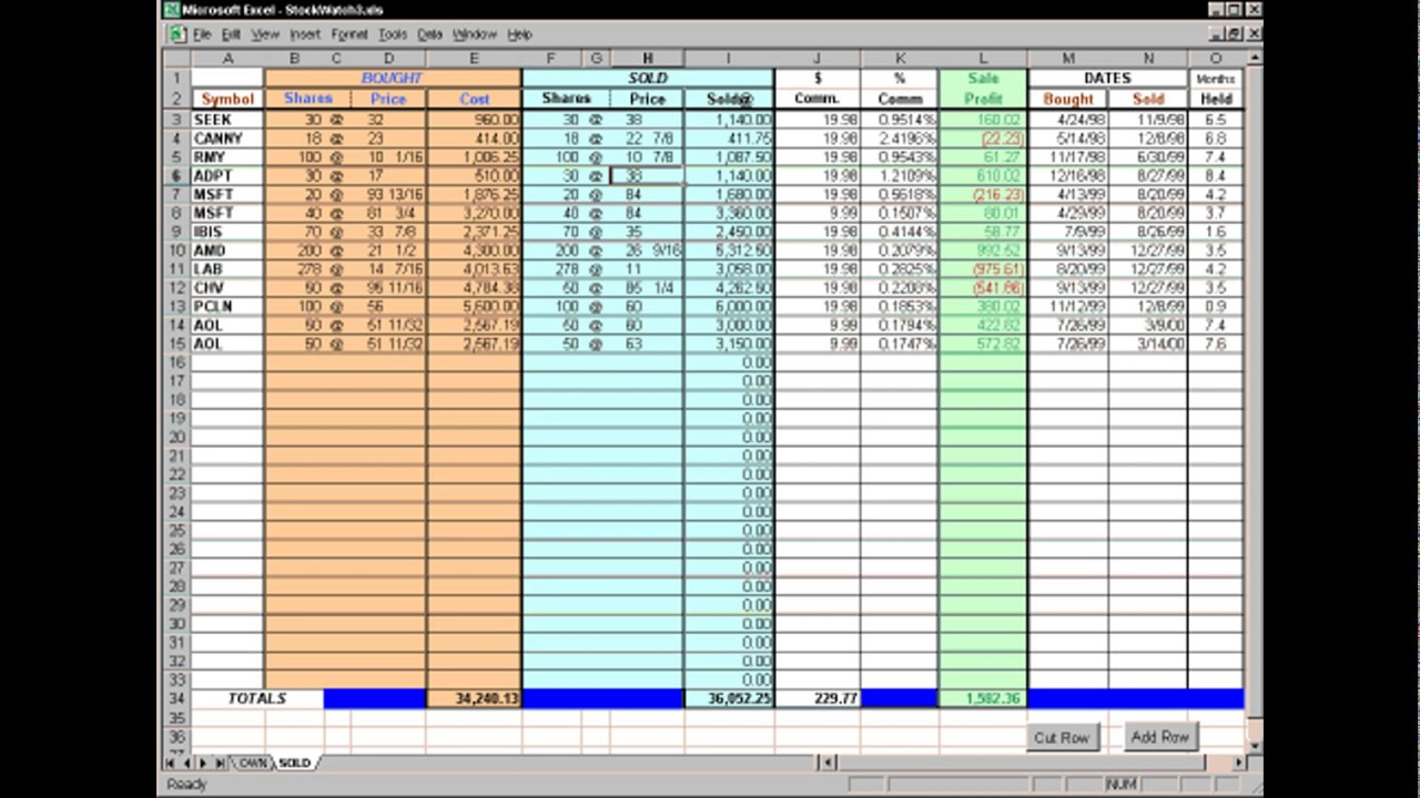 STOCK MAINTAIN TEMPLATE Excel - YouTube