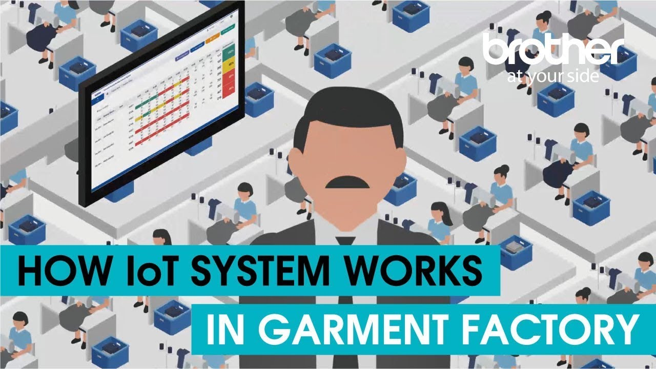 Download How IoT works in garment factory - Brother's IoT - NEXIO SYSTEM