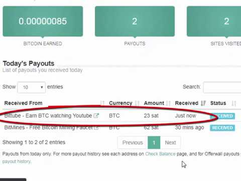 High Paying BTC Faucet | No Minimum Payout | Payment Proof