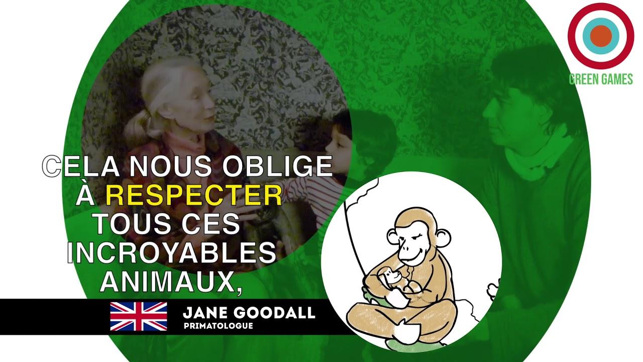 #003 JANE GOODALL, l'intelligence et la sensibilité des animaux