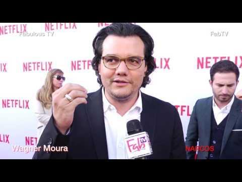 Wagner Moura star of NARCOS talks aboout season 2  Fabulous TV