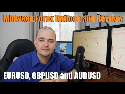 Midweek Forex Review - EURUSD, GBPUSD and AUDUSD