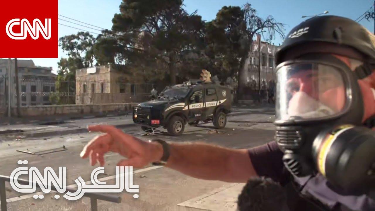 توجب عليهم الاحتماء على الهواء.. فريق CNN وسط اشتباكات بين الجيش الإسرائيلي وفلسطينيين  - نشر قبل 1 ساعة