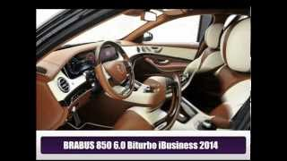Brabus 850 6.0 Biturbo iBusiness 2014 Videos