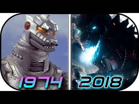 EVOLUTION of MechaGODZILLA in Movies & TV1974-2018 Godzilla King of the Monsters vs King Kong 2020