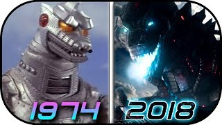EVOLUTION of MechaGODZILLA in Movies & TV(1974-2018) Godzilla King of the Monsters vs King Kong 2020