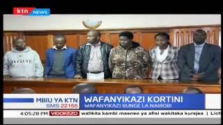 Wafanyikazi sita wa Bunge la Kaunti ya Nairobi wamefikishwa mahakamani