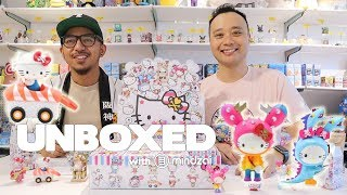 Unboxed EP18 -  Hello Kitty x Tokidoki Series 2 Unboxing and Giveaway!