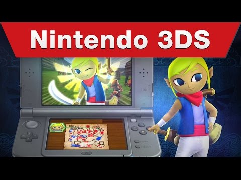 Nintendo 3DS - Hyrule Warriors Legends E3 2015 Trailer
